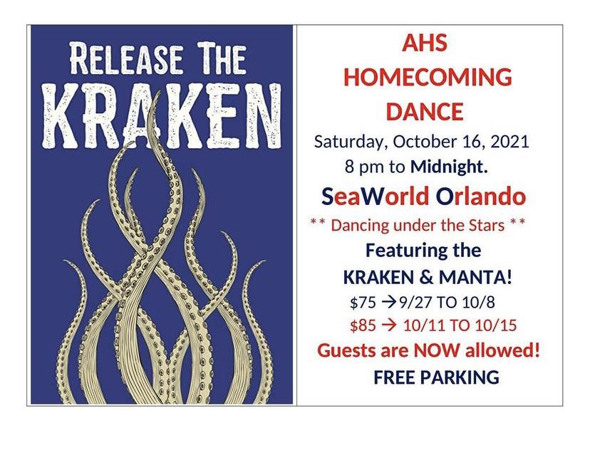 Kraken Open Hoco Week