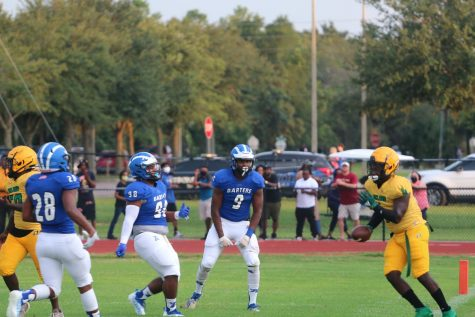Blue Darter Football is Back-- With a Bang!